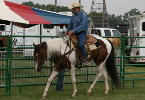 Terry Meyers Horsemanship Demo at Cowboy Day 2008