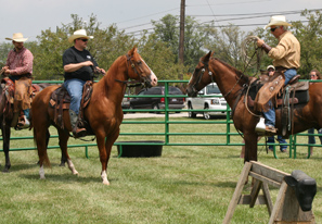Roping Demos from the Smoke Rise Ranch