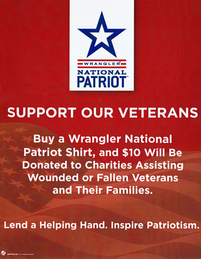 Wrangler Patriot Program
